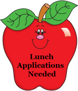 Lunch Applications Needed