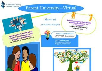 Special Education Parent University
