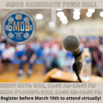 NEW: SMOB Candidate Town Hall