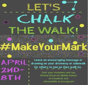 Weekly Challenge: CHALK THE WALK!