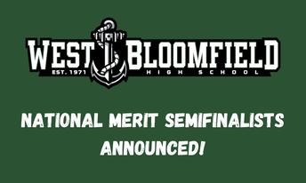 WBSD Congratulates National Merit Semifinalists!