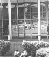 Students in Old Amphitheater in Arts Center,1980s