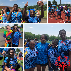 CSD Skills for Life Students Participate in Special Olympics Track and Field Meet
