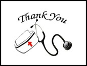 Thank you, from the nurse!