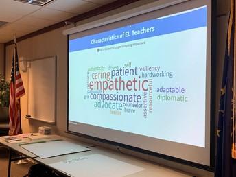 Teachers of ELs, We Appreciate You!