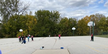It May Be Chilly, But We Are Still Outside For Recess!