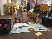 Working on Sentence Analysis- The Montessori Way