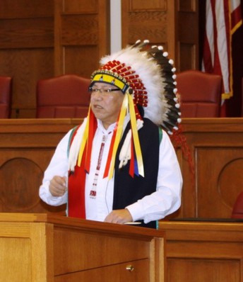 About Gordon Yellowman, Cheyenne & Arapaho