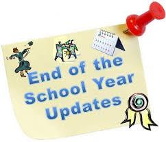 Team uniform return, Chromebooks, Library books, teacher supplies & Pick up Field Day Tees