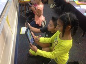 3rd Graders at SH Int integrating technology into lessons