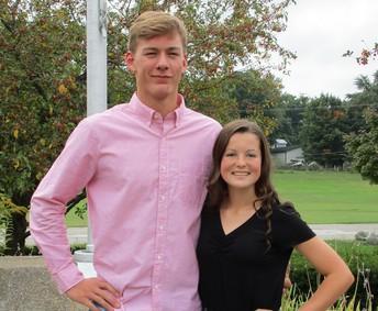 Mr. Jacob Huhn and Miss Olivia Krejci