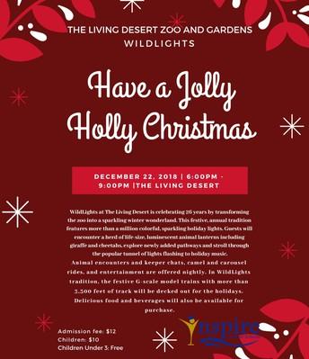 The Living Desert Zoo Wildlights! 12/22/18