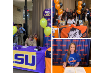 3 Student-Athletes Sign Letters of Intent