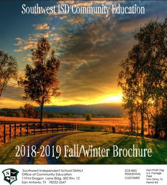 2018 Fall Brochure