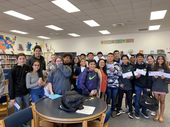 Some 8th Graders Accepted to HS Academies