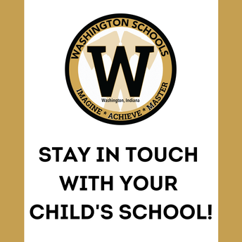 Stay in Touch with your child's school!