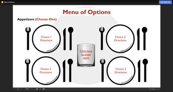 Google Slides Choice Activities Templates