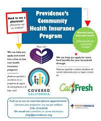 Providence Community Health Insurance Programa de Seguro de Salud Comunitario