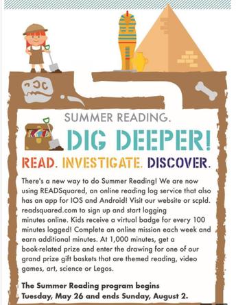 St. Charles Library Summer Reading Program