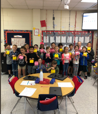 Mrs. Garcia's class receives Chickies!