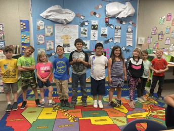 Students from Mrs. Gibbs' class
