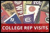 College Reps are coming to LHS!