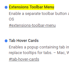 Turn Off the New Google Chrome Extensions Toolbar Menu