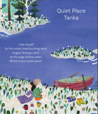 Primary- Quiet Place Tanka by Kate Coombs