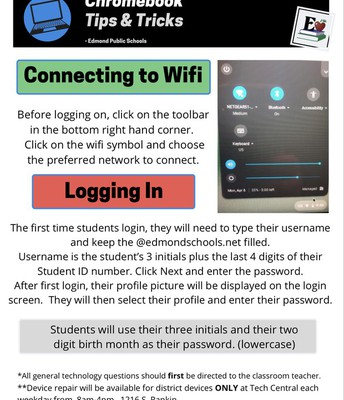 Chromebook Tips & Tricks