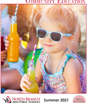 Community Ed summer brochure now online
