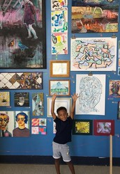 Thornhill Student Art Featured in MOCHA's My First Art Show