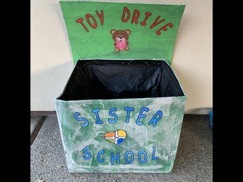 ALAMO ELEMENTARY SCHOOL PTA SISTER SCHOOL WARM MEAL AND TOY DRIVE