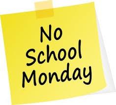 No School Next Monday
