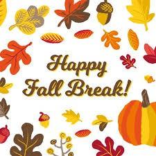 Happy fall break!