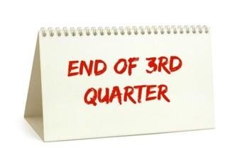 End of Third Quater