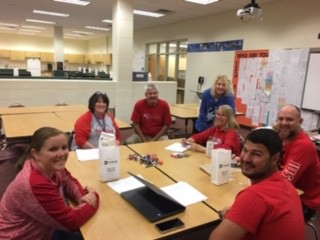 Elective teachers making plans