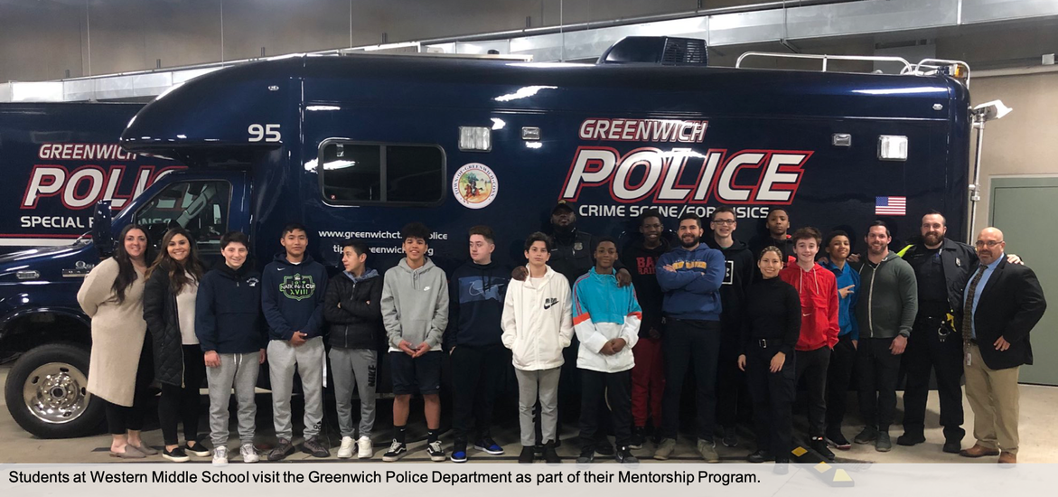 GPD Mentorship Program for Western Middle School students