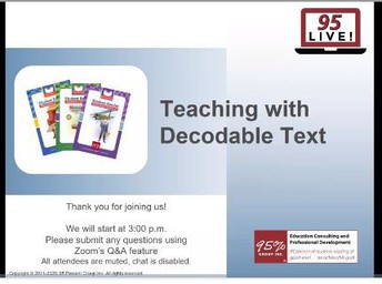 Teaching With Decodable Texts
