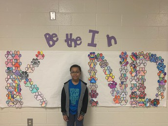 Christopher Hairston in Mrs. Perkerson's 4th grade class