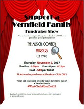 Support a Vernfield Family Fundraiser Show