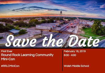 Deep Wood Teachers and Staff...the Mini-Con is approaching!!!