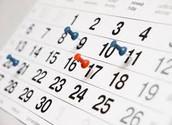 Julie's Schedule