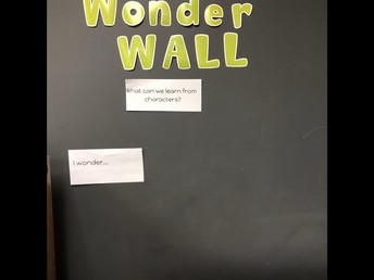 Wonder Wall tied to Literacy