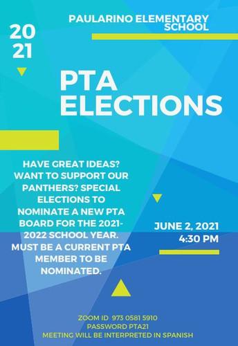 PTA Executive Board Elections