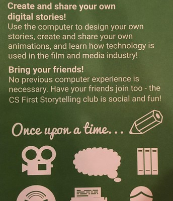 Coding Club - Storytelling with Scratch