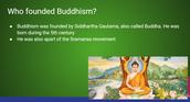 Presentation on Buddhism