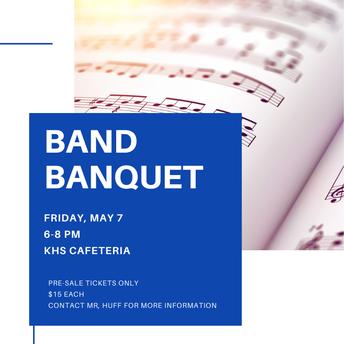 KHS Band Banquet