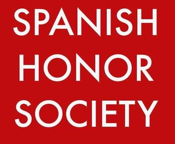 Spanish Honor Society: