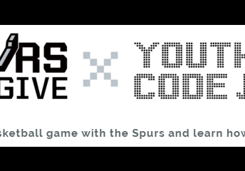 Spurs Give - Virtual Coding Lessons - FREE!