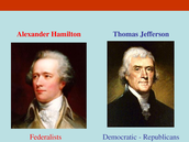 Alexander Hamilton & Thomas Jefferson